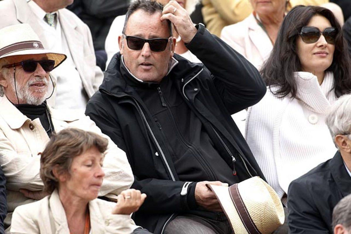 Jean Reno and wife Zofia