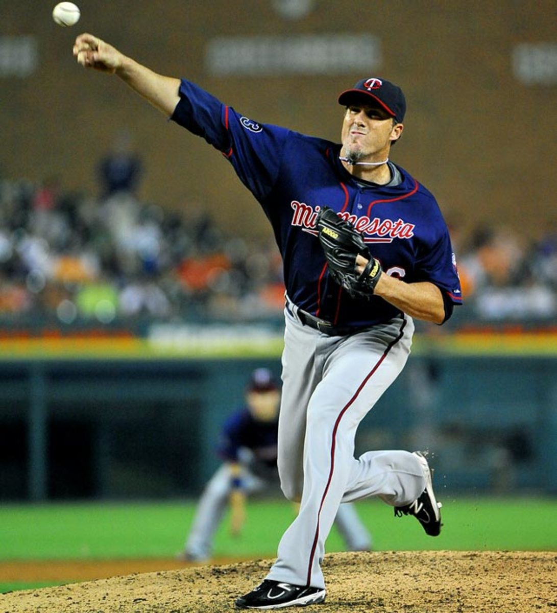 Relief pitcher: <br> Joe Nathan