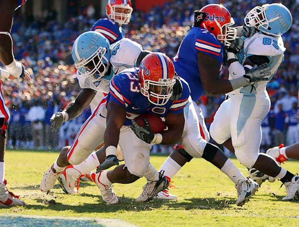 No. 3 Florida 70, The Citadel 19