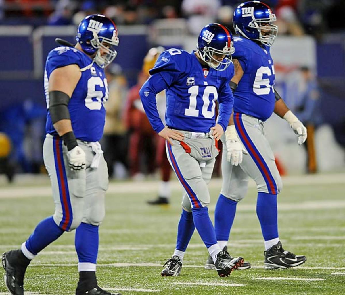 Redskins 22, Giants 10
