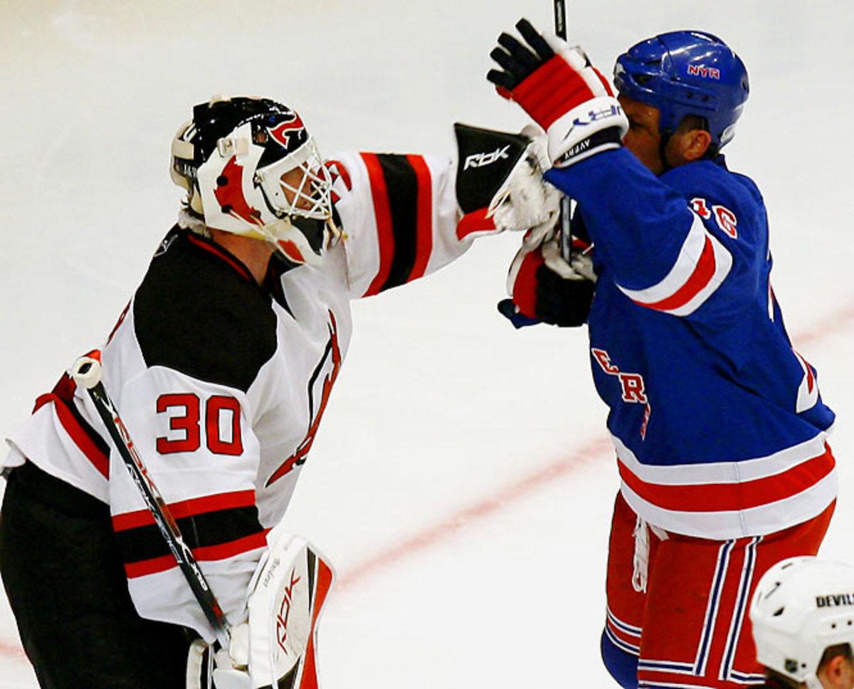 (4) Devils vs. (5) Rangers