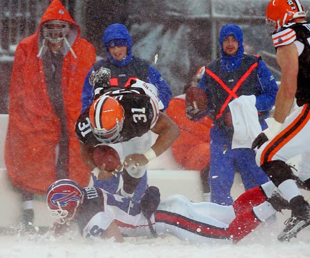 Browns 8, Bills 0