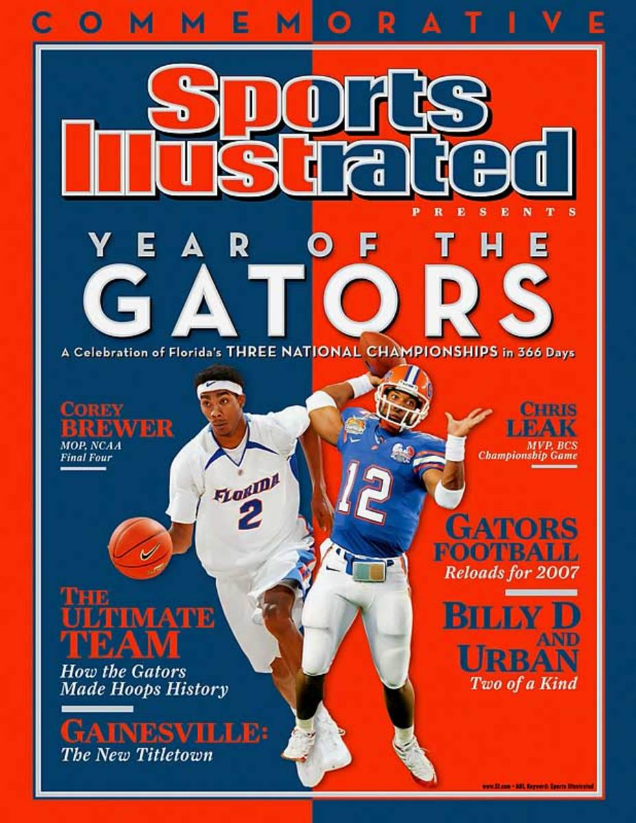 Florida wins both national titles in football and basketball