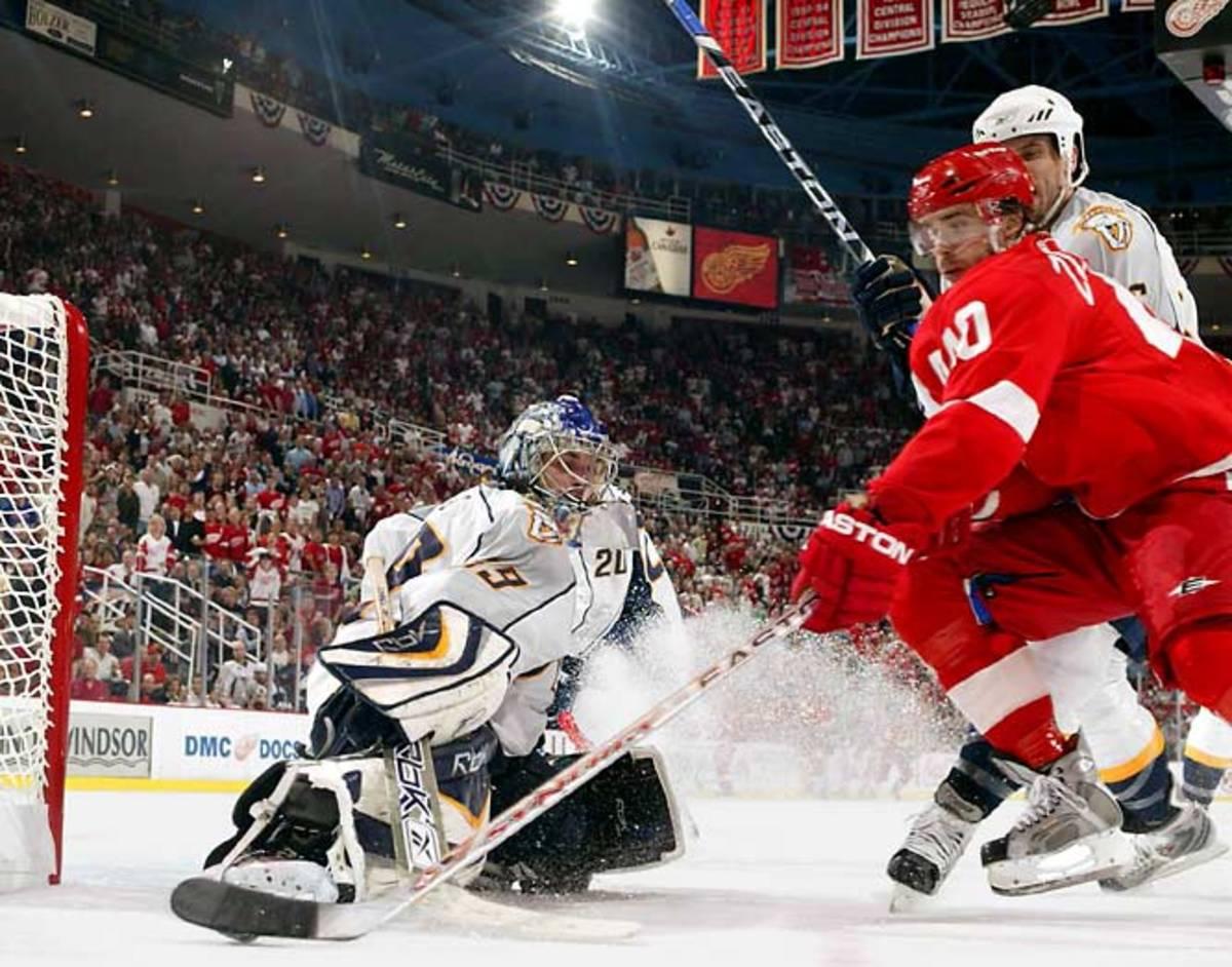 (1) Red Wings vs. (8) Predators