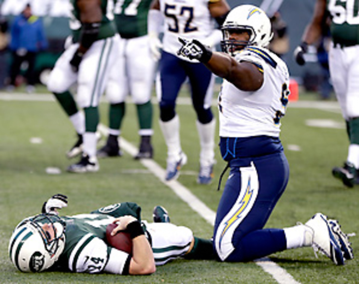 Greg McElroy did not tell the Jets staff about his concussion until Thursday. (Rich Schultz/Getty Images)
