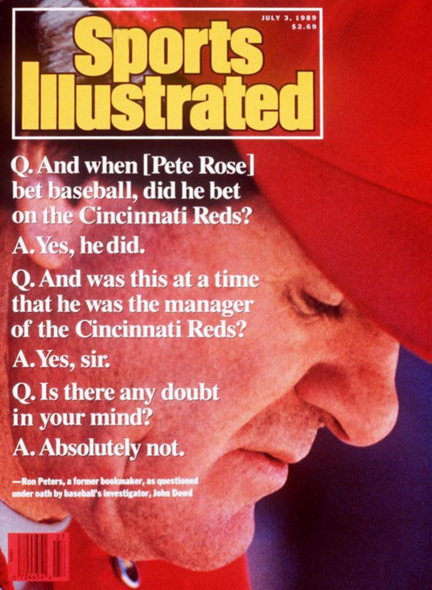 Pete Rose bets on baseball