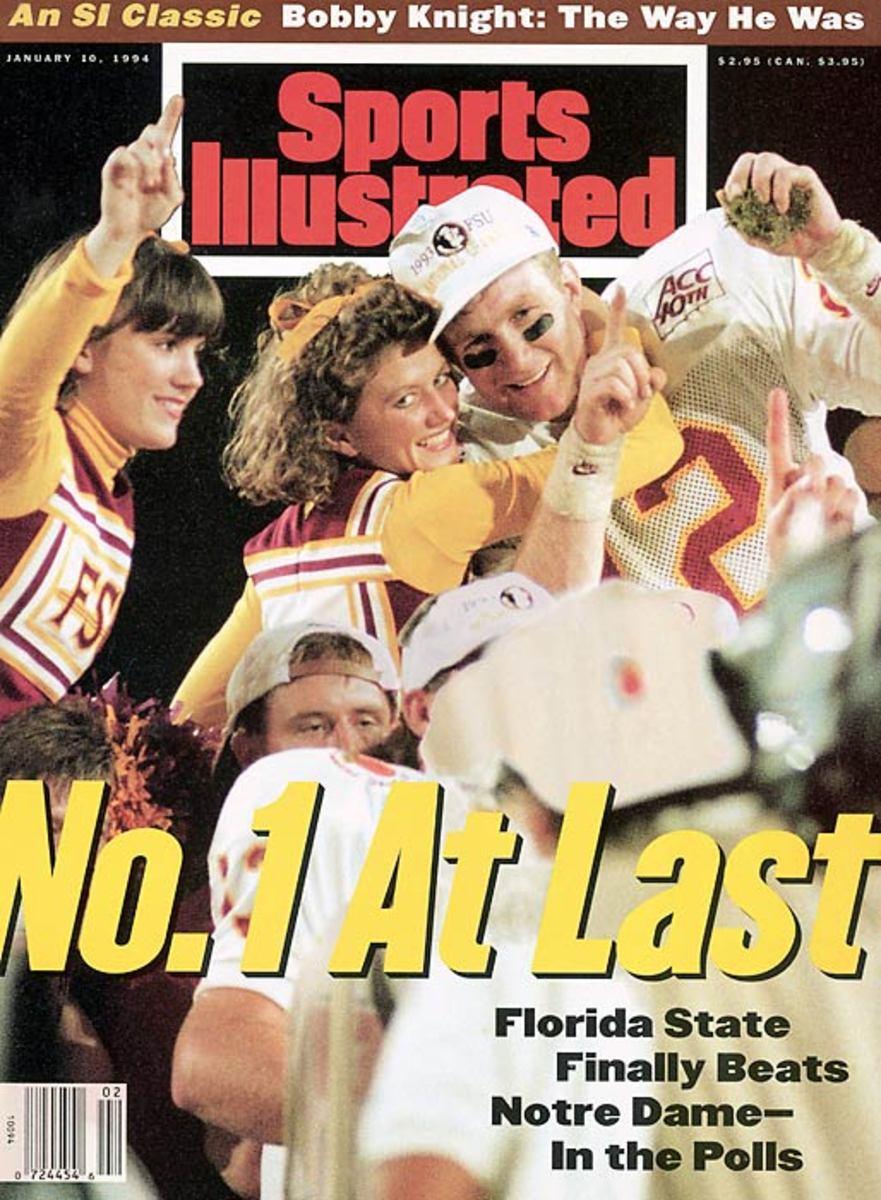 "Florida State ""free shoes"" scandal, 1993"