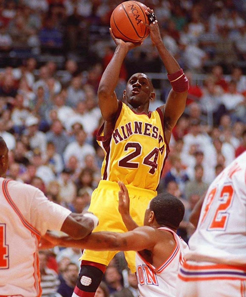 Minnesota basketball academic scandal, 1990s