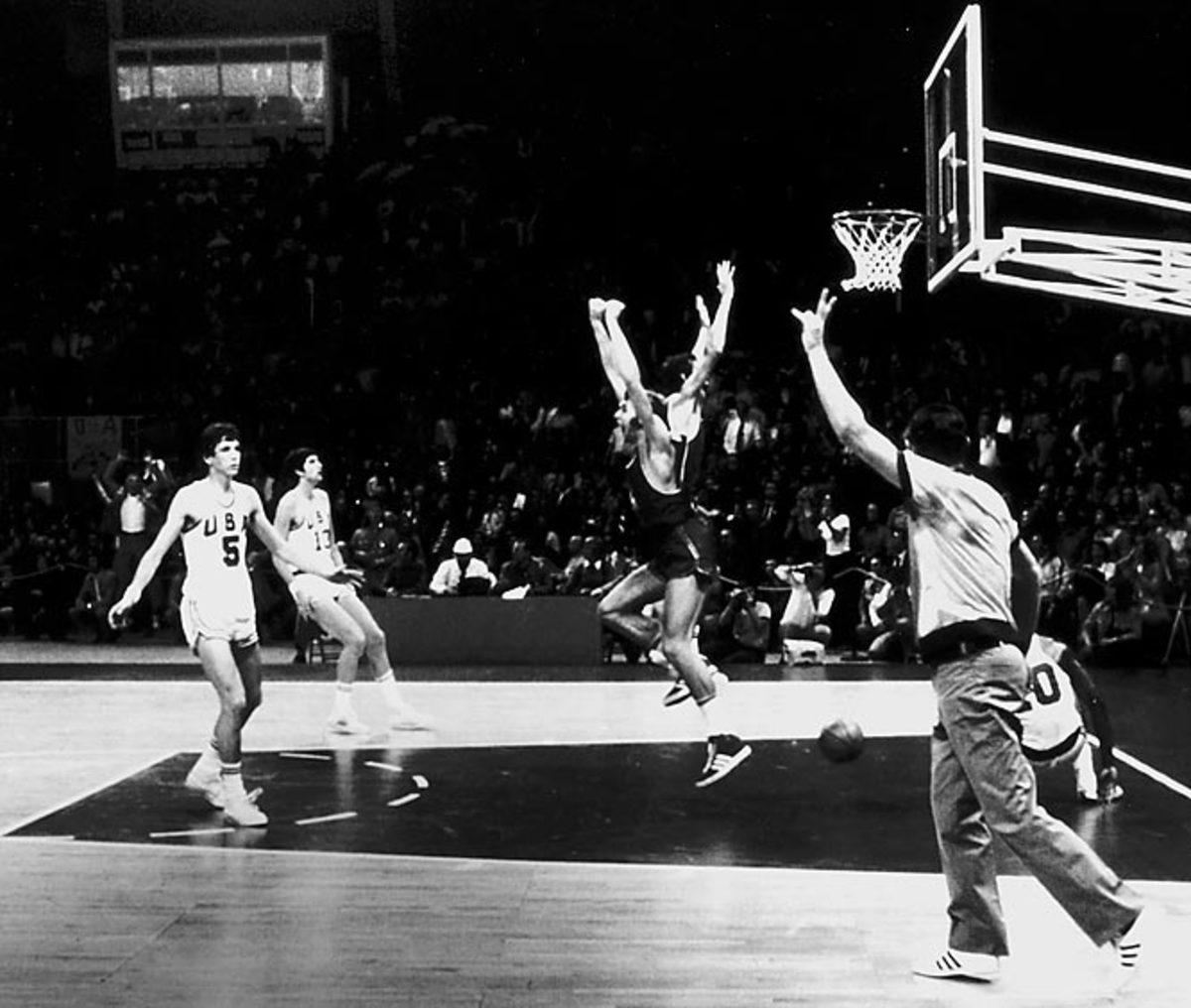 Soviet Union-USA gold medal game, 1972