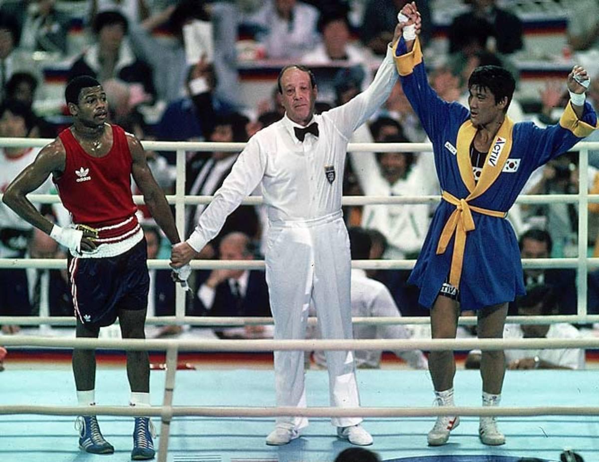 Park Si Hun vs. Roy Jones Jr., 1988