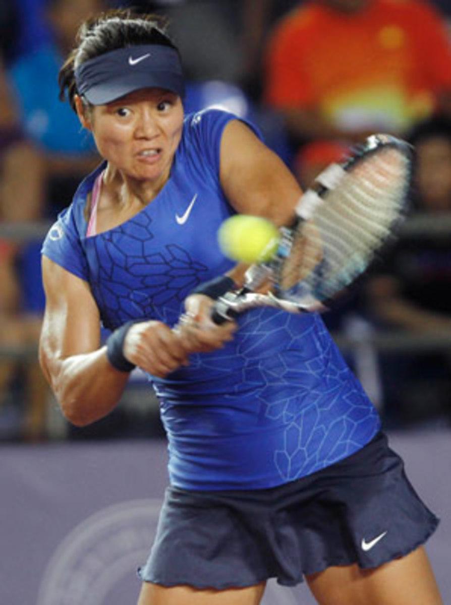 Li Na broke a 2-1 lead in the second set to win.