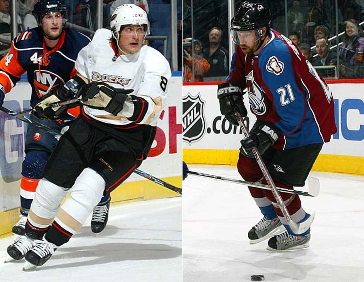 Teemu Selanne and Peter Forsberg return