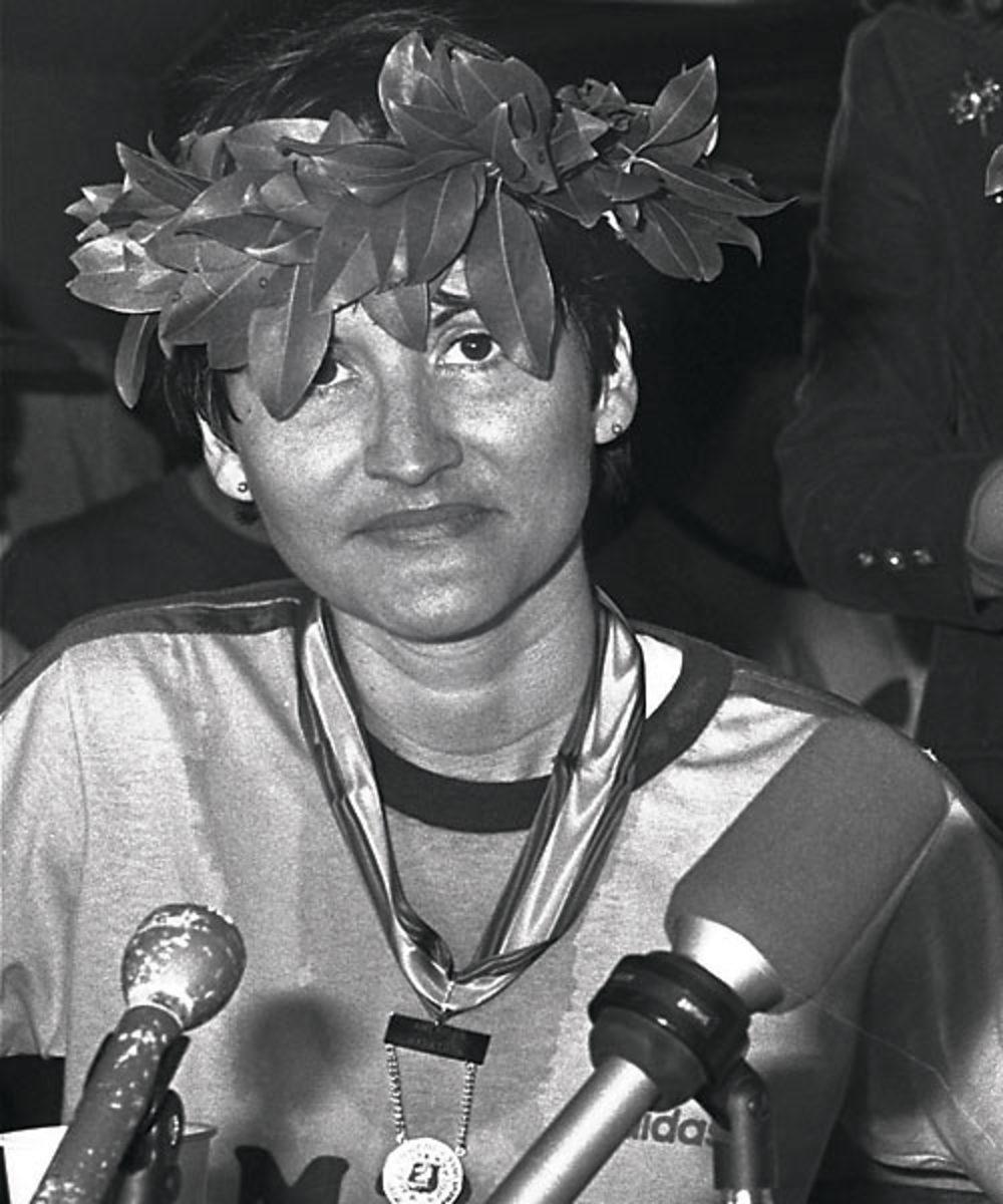 Rosie Ruiz's Boston marathon win, 1980