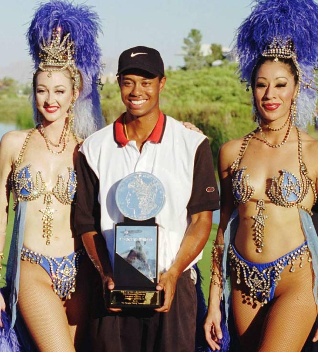 Tiger Woods, 1996 Las Vegas Invitational