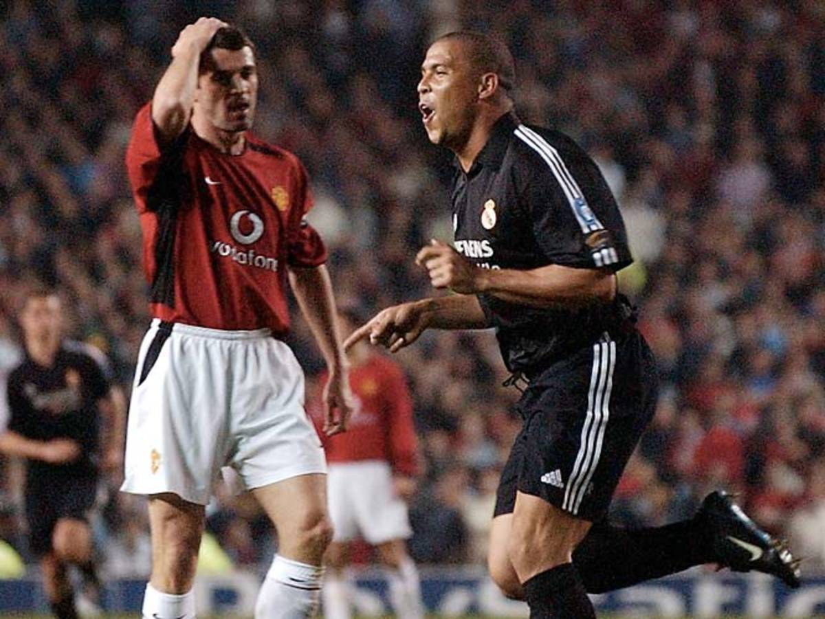 Manchester United vs. Real Madrid,  Champions League, 2003