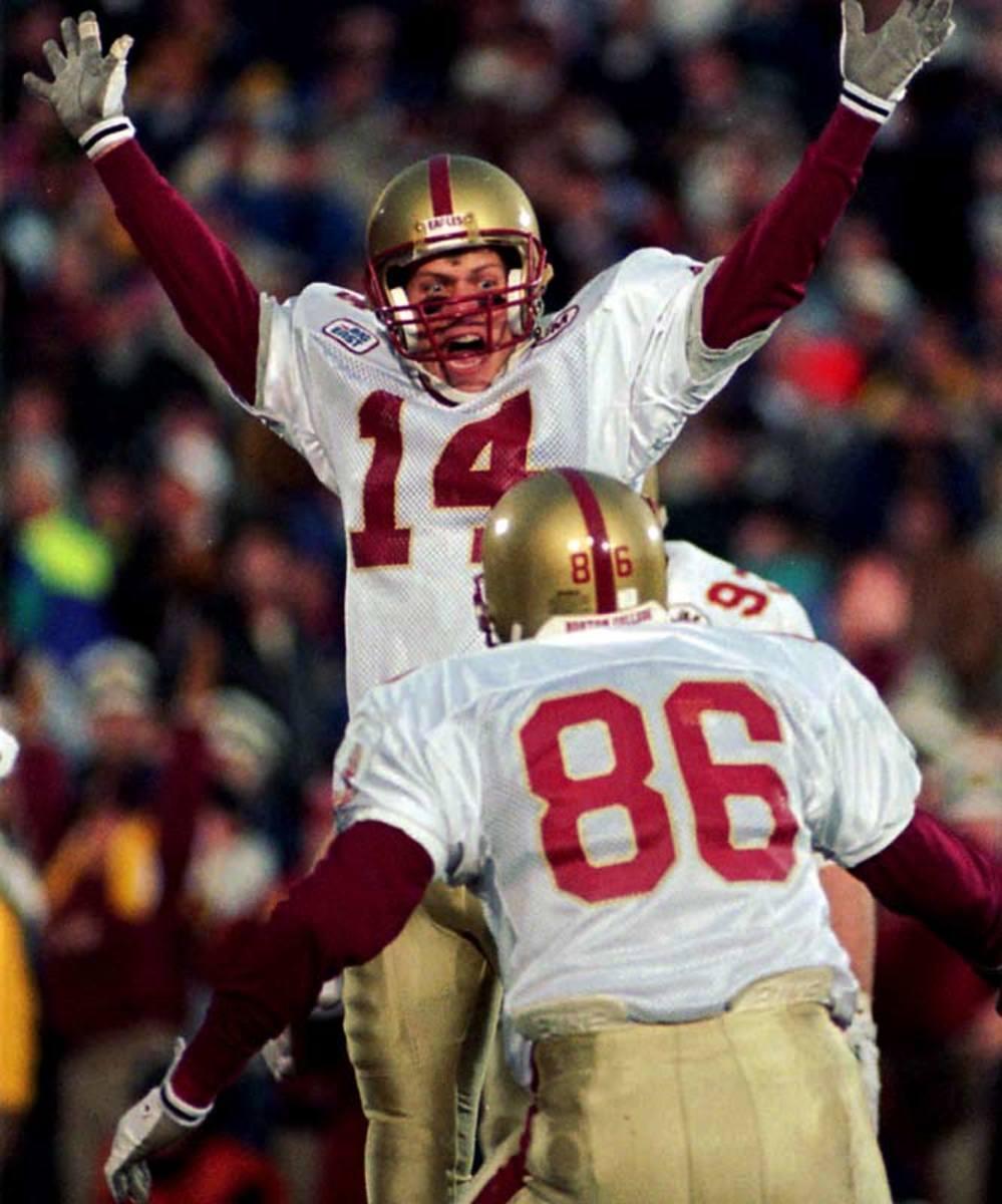 Notre Dame vs. Boston College, 1993