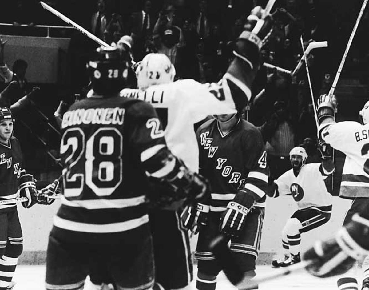 Islanders vs. Rangers, Game 5, 1984 Patrick Division semifinals