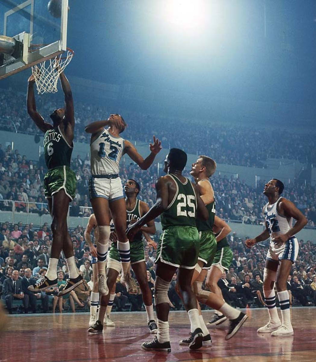 Bill Russell, 1966 NBA Finals