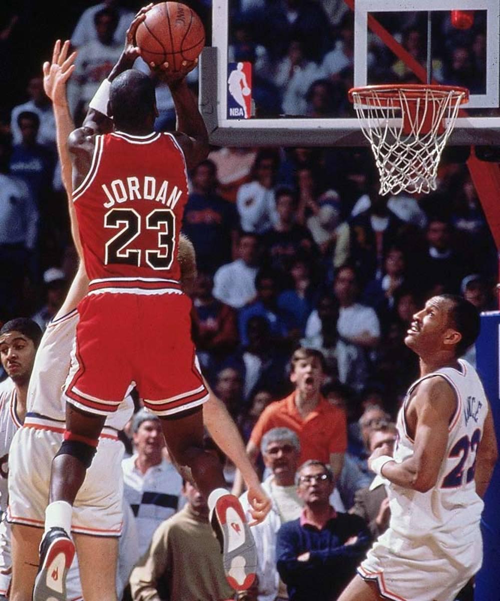 Michael Jordan, Game 5, 1989 Eastern Conference semifinals