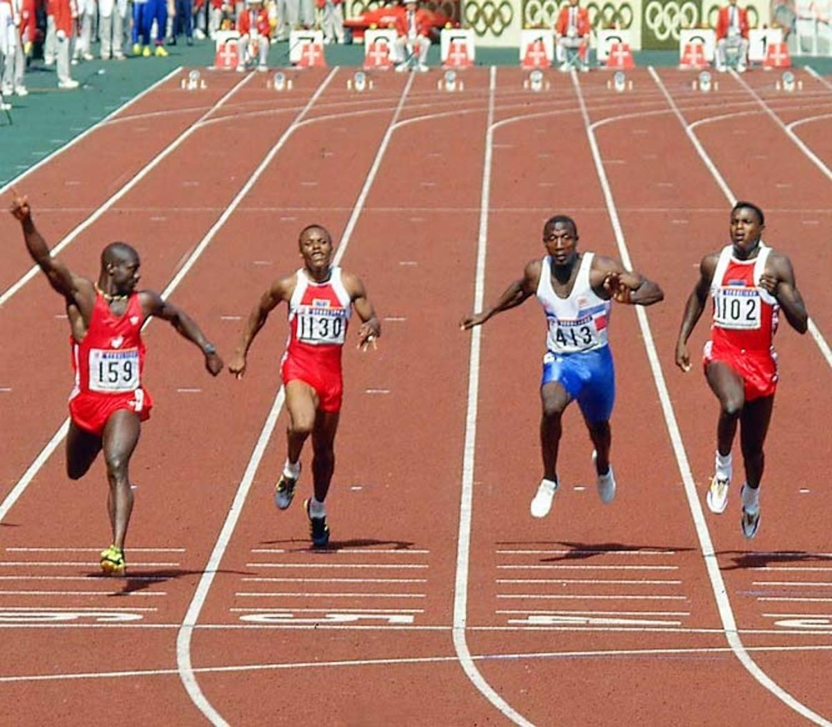 1988 100-meter Olympic final