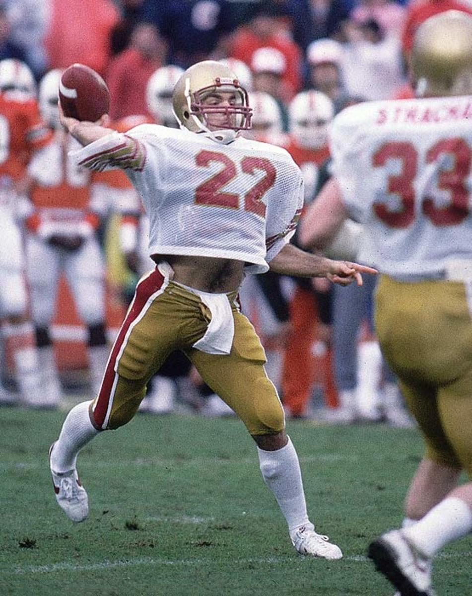 Boston College vs. Miami, 1984