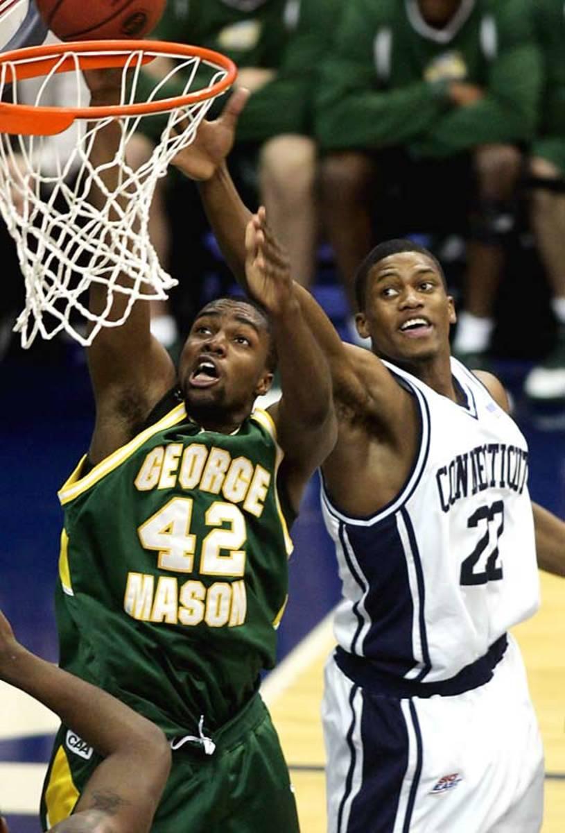 George Mason vs. UConn, 2006 NCAA Elite Eight game