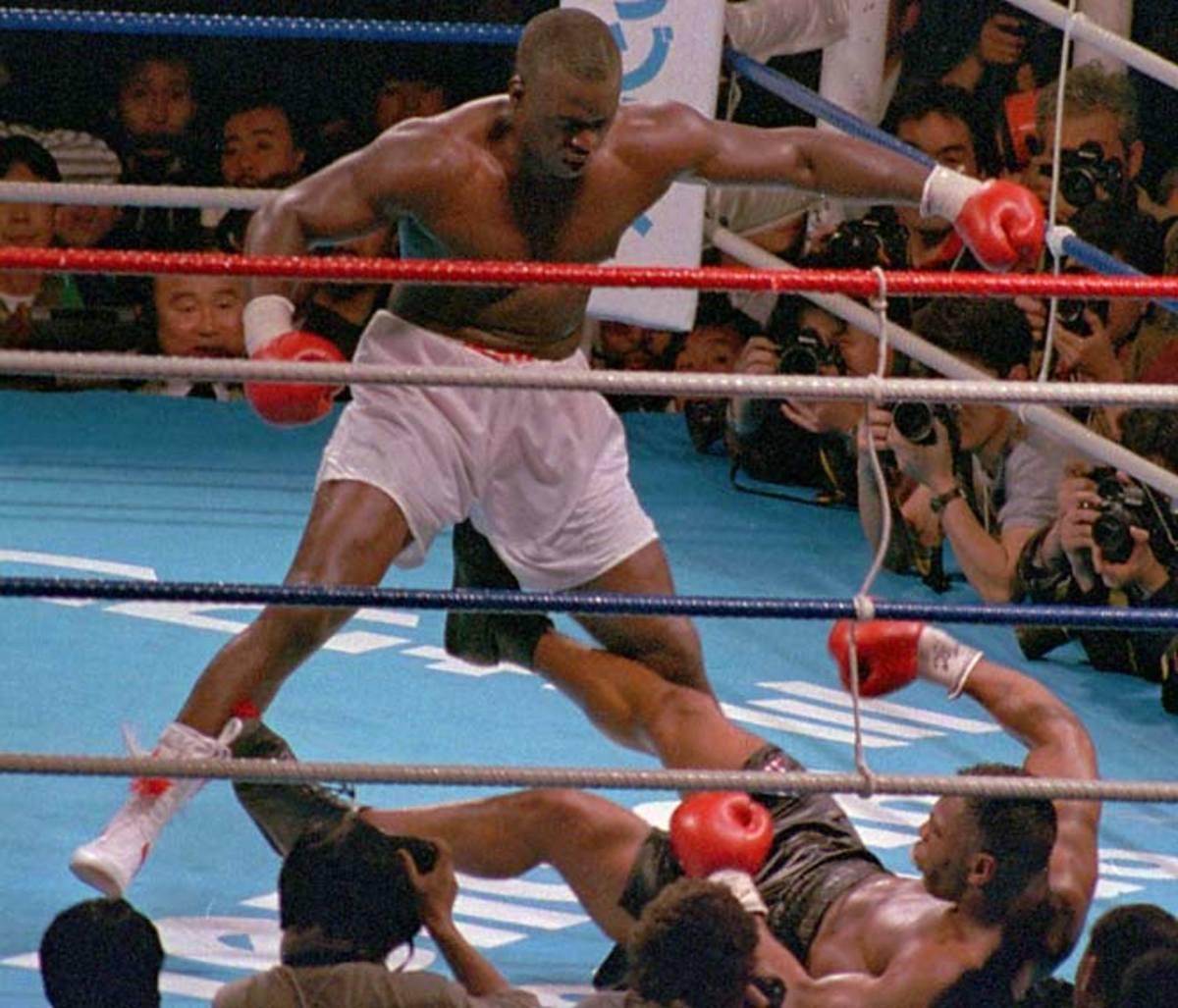 Mike Tyson vs. Buster Douglas, 1990
