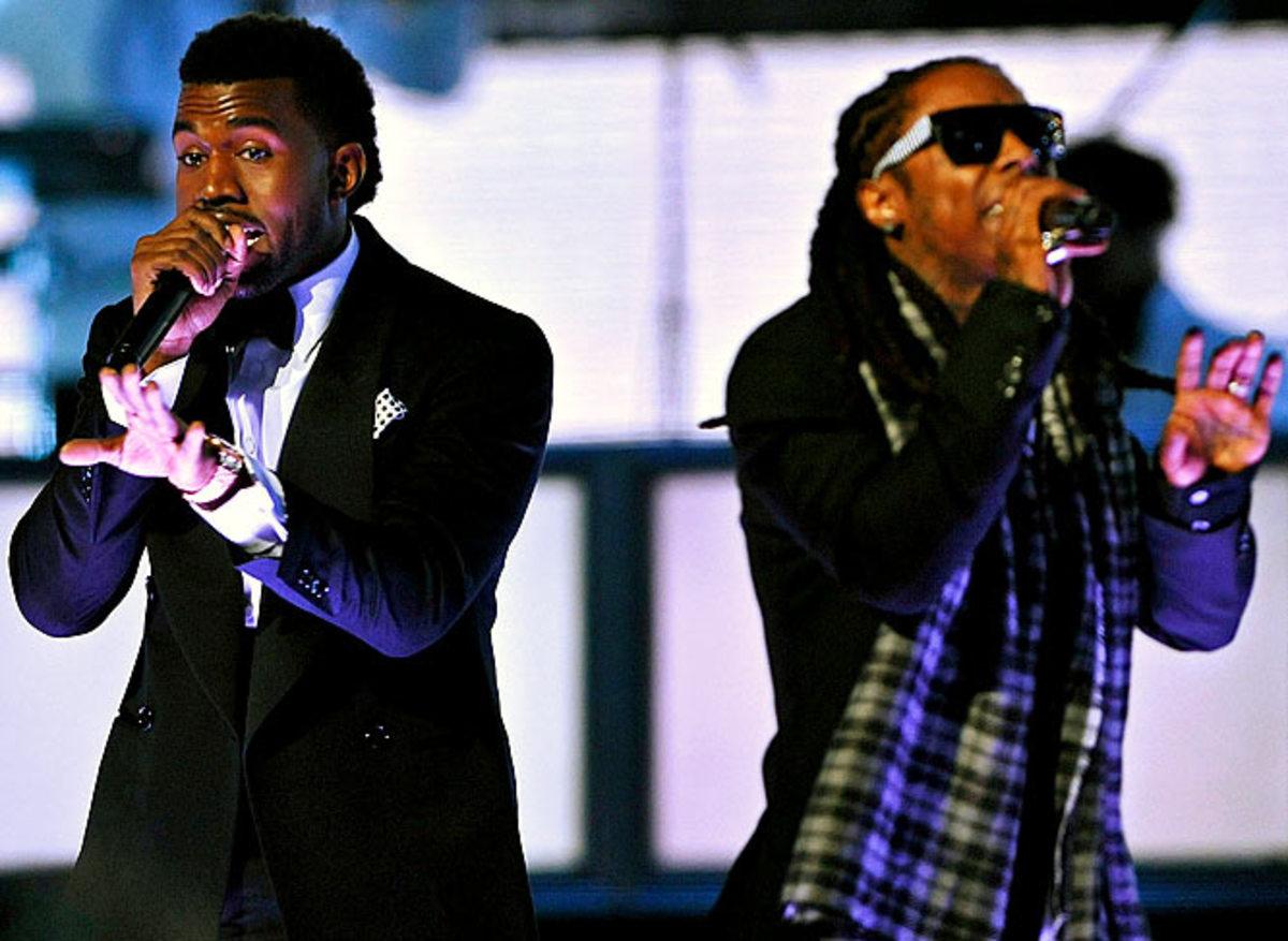 Kanye West and Lil Wayne