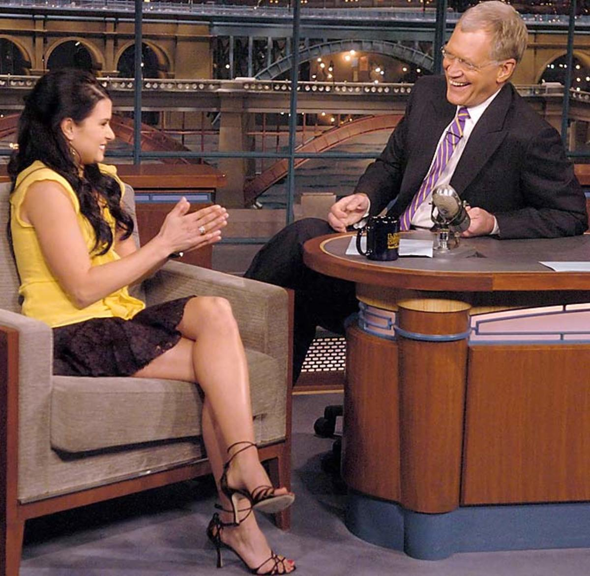 Danica Patrick/David Letterman