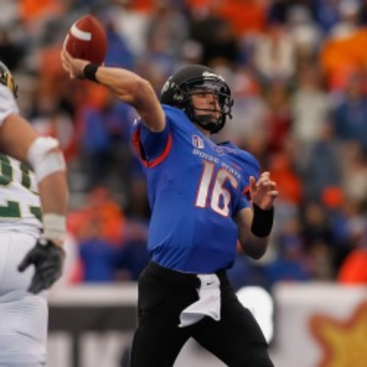 The Pac-12 isn't ready to expand, but Boise State might be on their radar if they do. (Otto Kitsinger III/Getty Images)