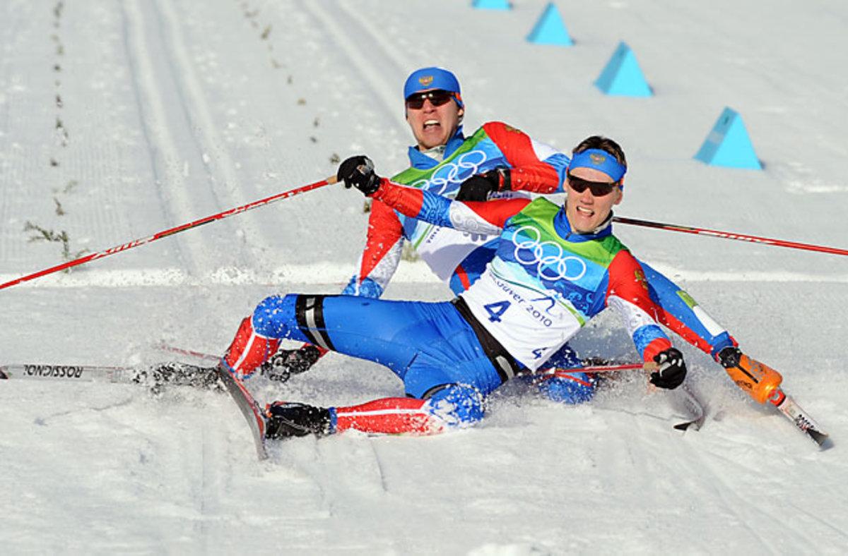 Alexander Panzhinskiy and Nikita Kriukov