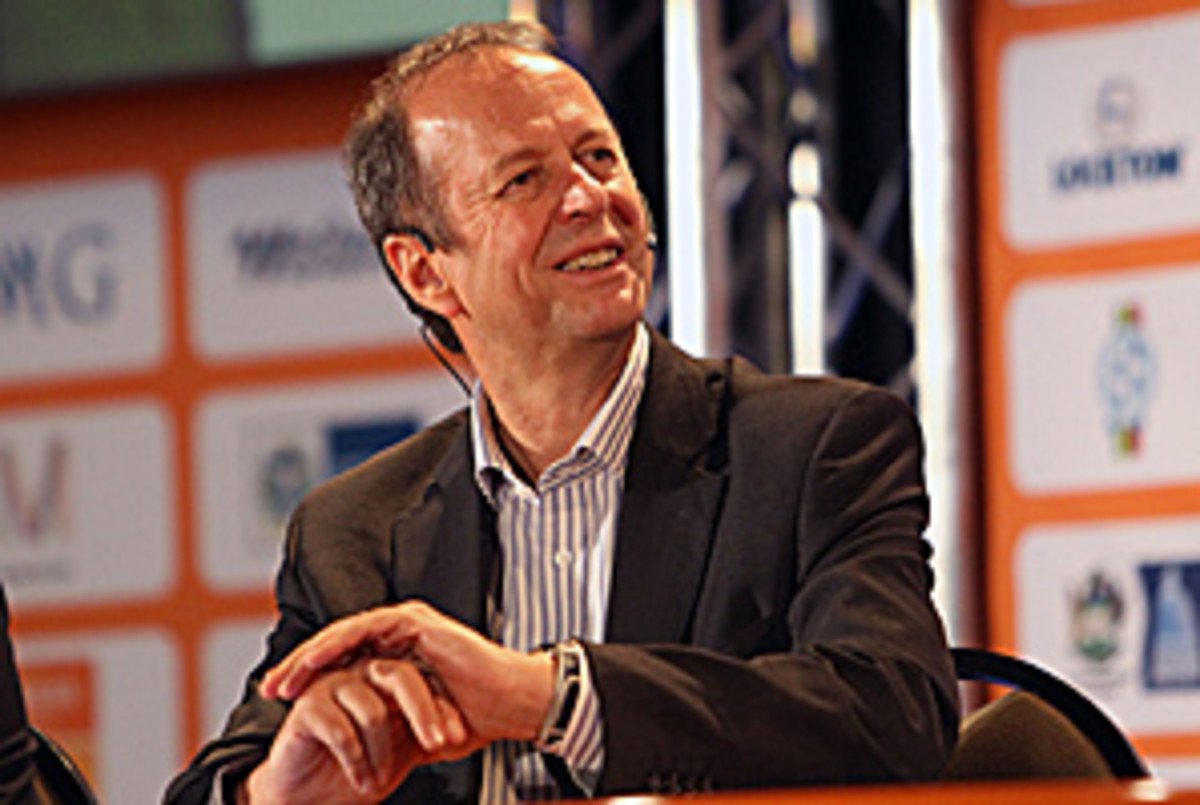"""""""The full extent of the web of international crime is now exposed,'' said SAFA chief executive Robin Petersen (shown here in October)."""