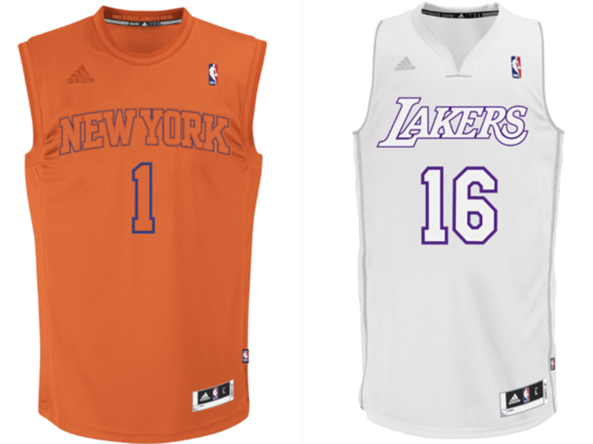 NBA unveils new single-color Christmas Day jerseys - Sports ...