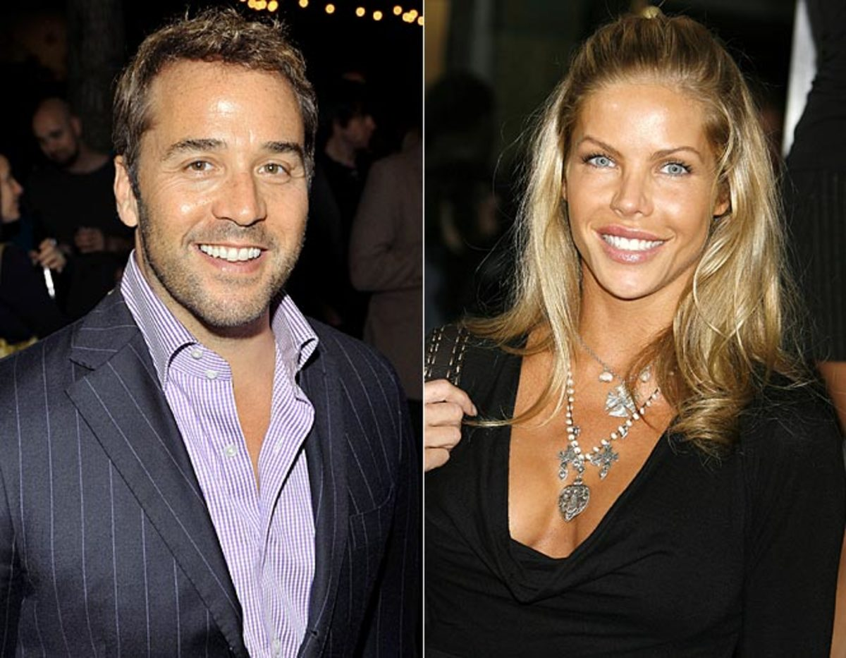 Jeremy Piven and Jessica Canseco