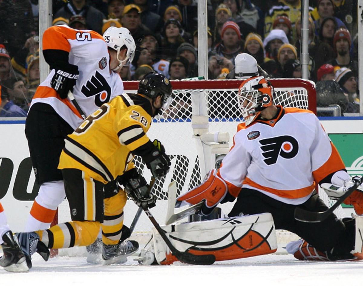 Bruins 2, Flyers 1 (OT)