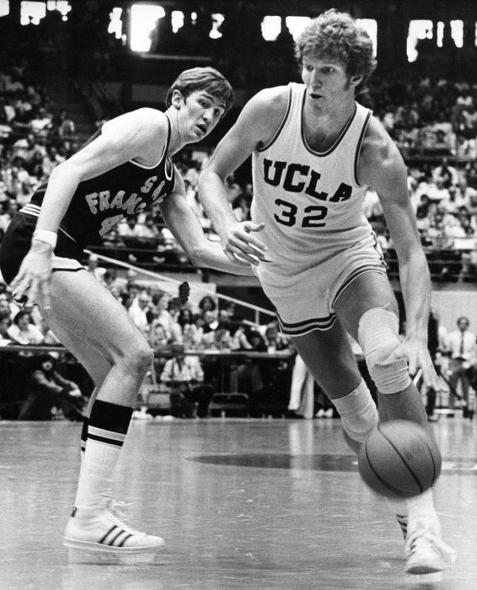 Bill Walton and Eric Fernston