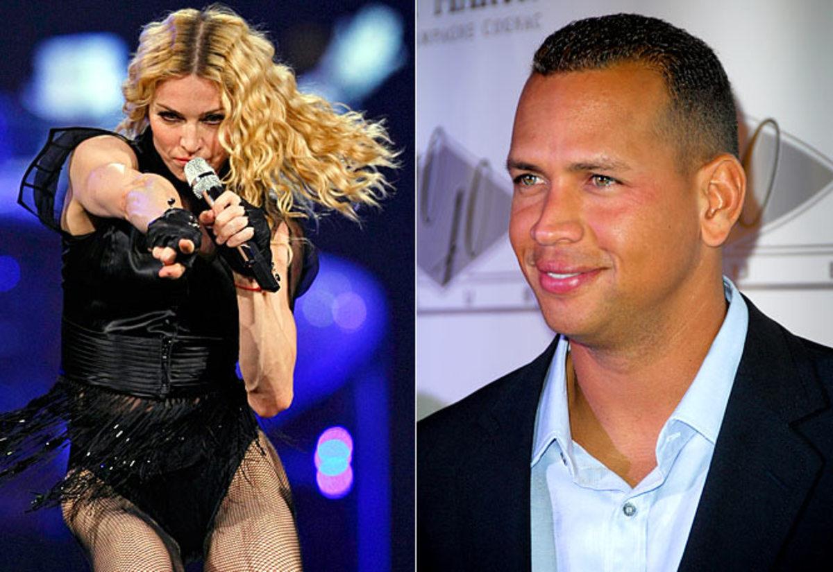 Madonna and Alex Rodriguez