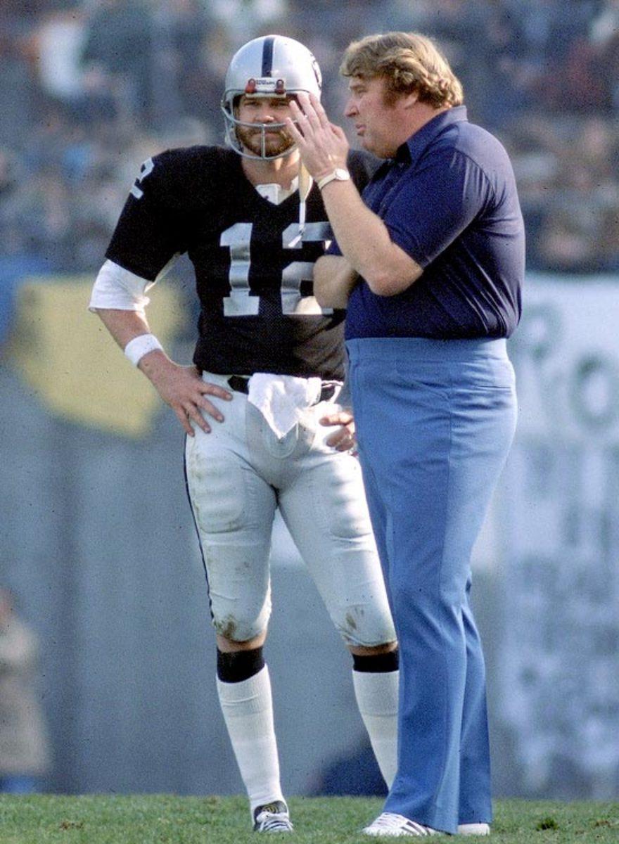 John Madden and Ken Stabler
