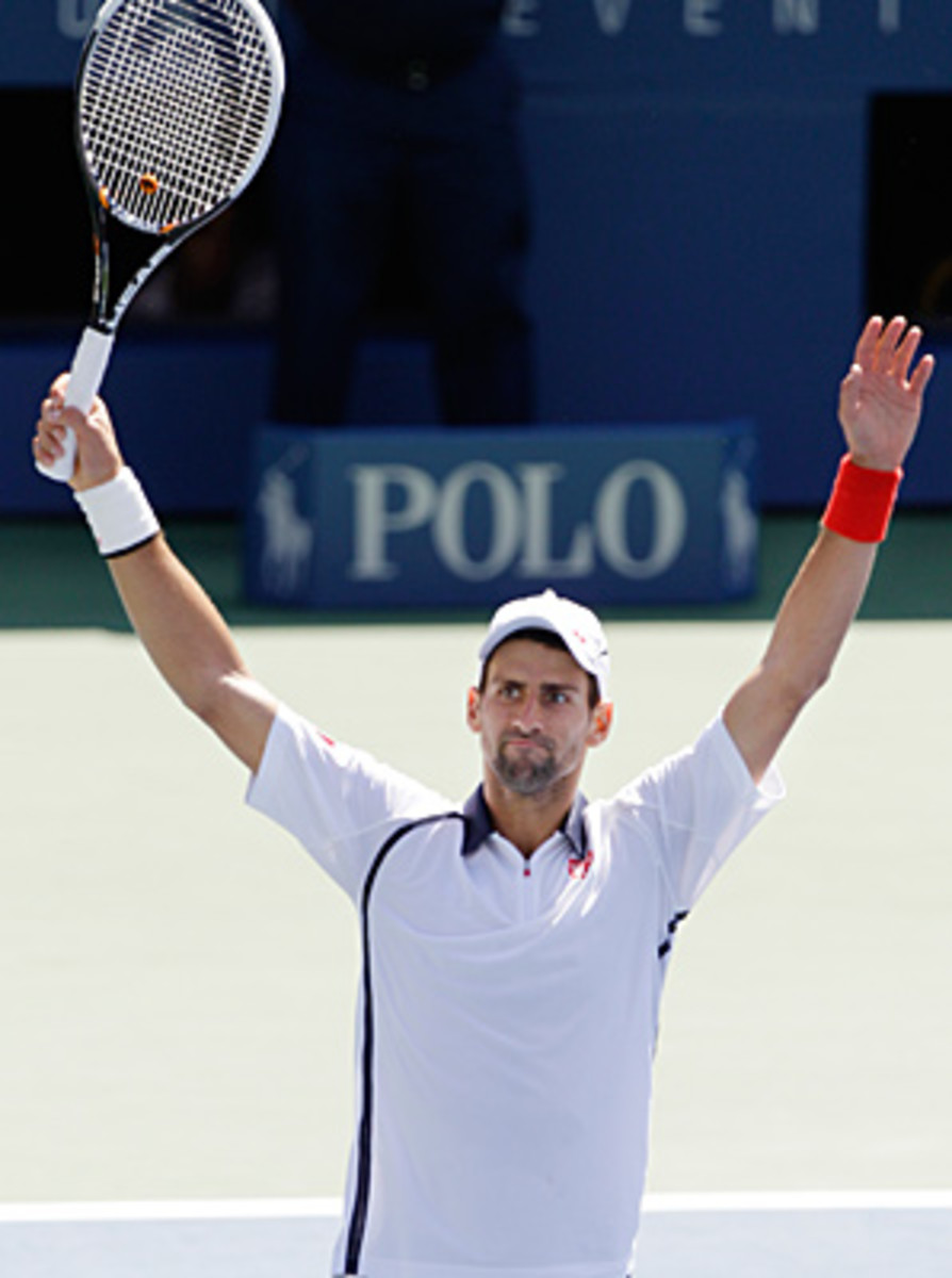 Novak Djokovic is one match away from winning his fifth Grand Slam out of the last eight.