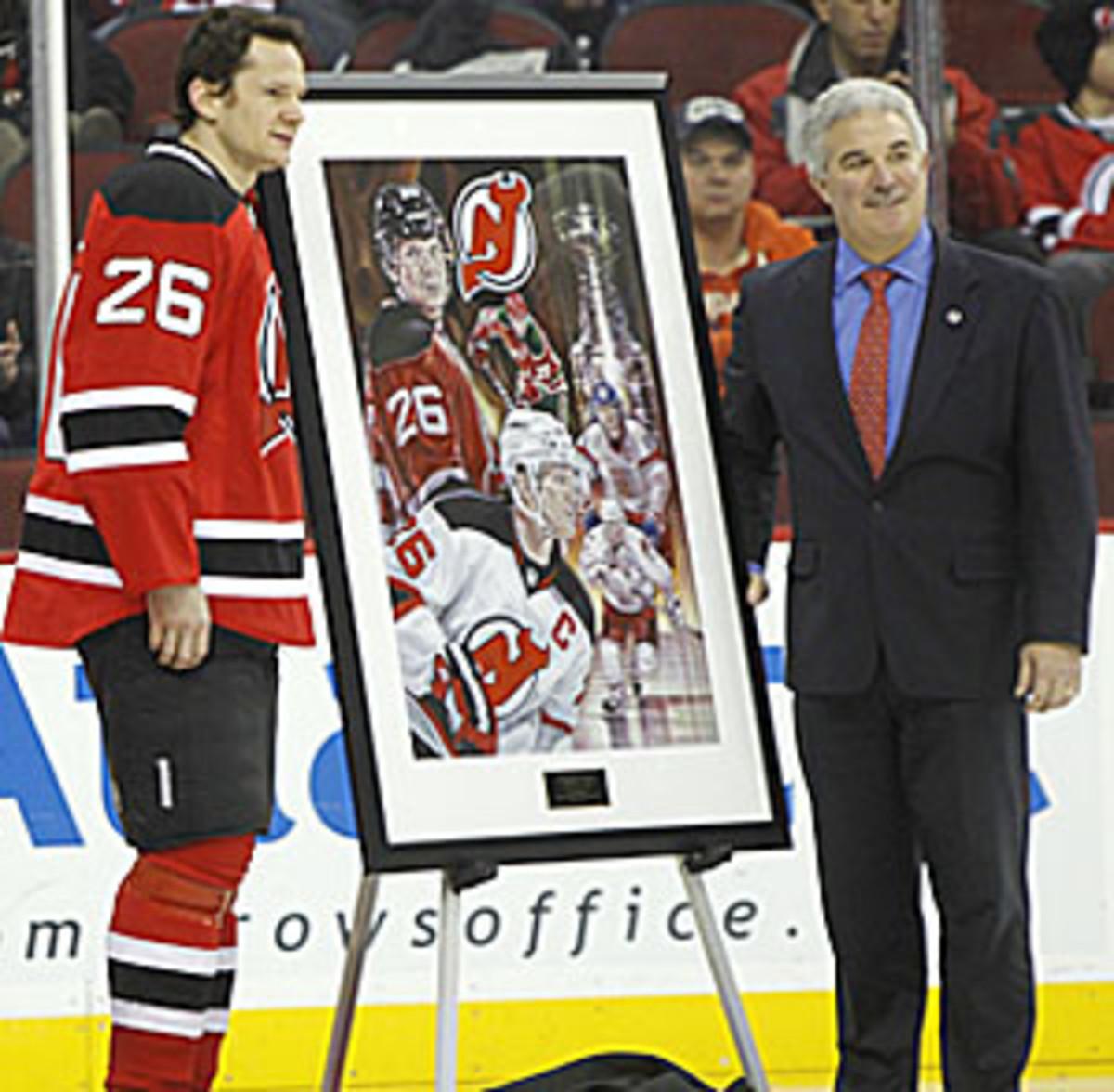 Devils owner Jeff Vanderbeek is in danger of defaulting on a $40 million loan.