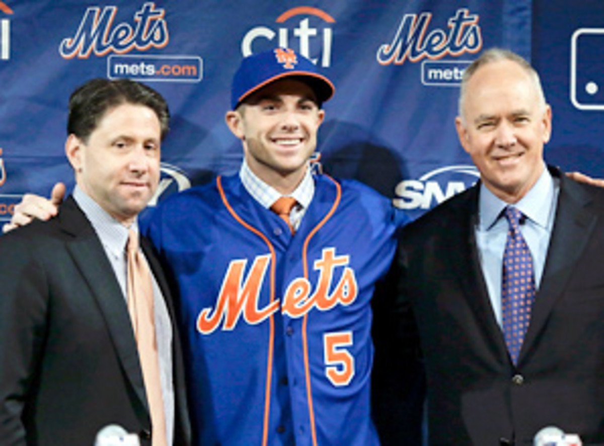 Franchise player: David Wright is the Mets' career leader in hits, RBIs, runs and walks.