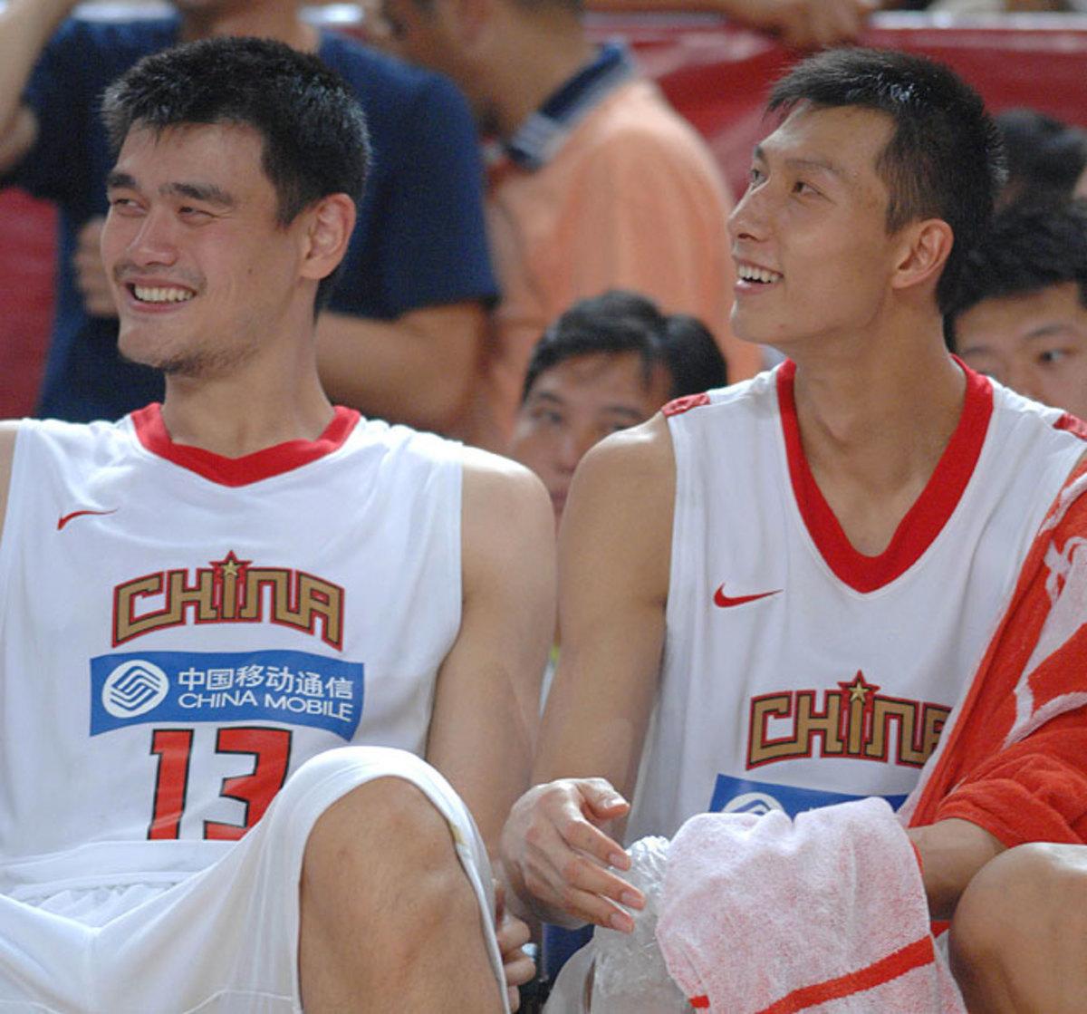 Yao Ming and Yi Jianlian | China