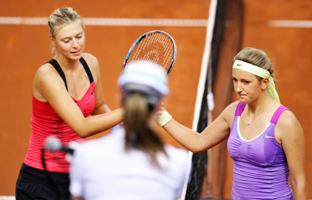 Maria Sharapova, Victoria Azarenka