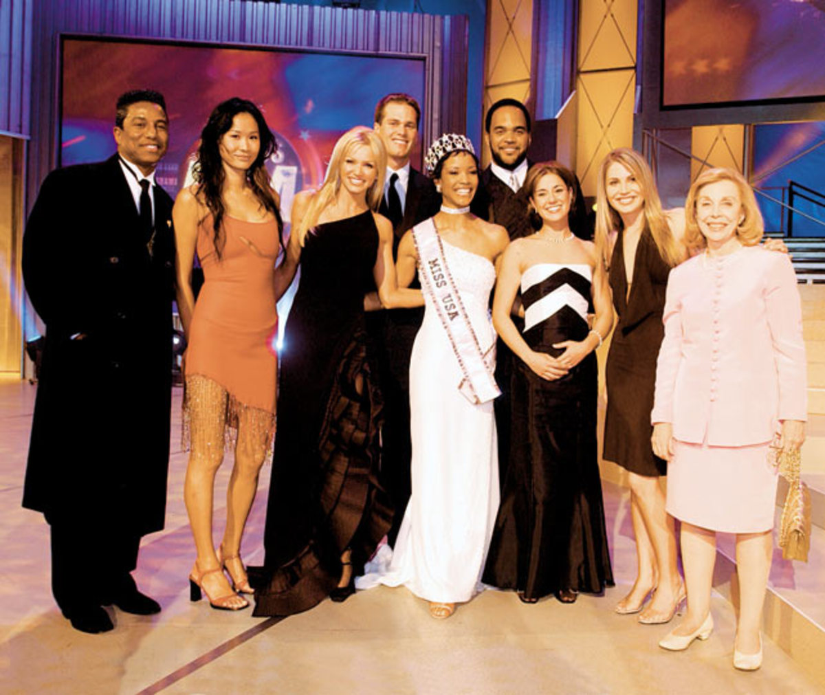 Tom Brady and Miss USA contestants