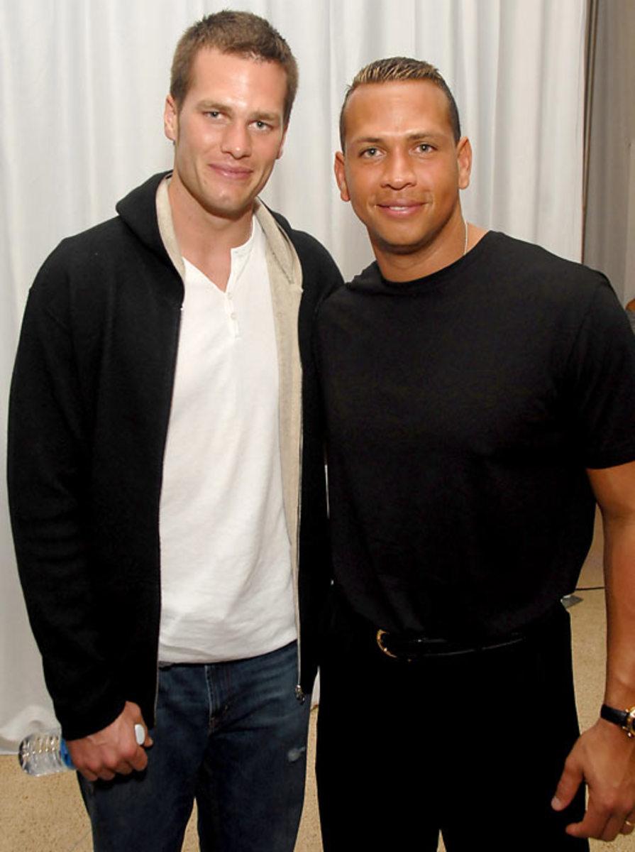 Tom Brady and Alex Rodriguez
