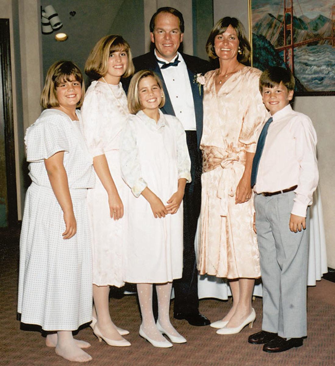 Tom Brady and Family