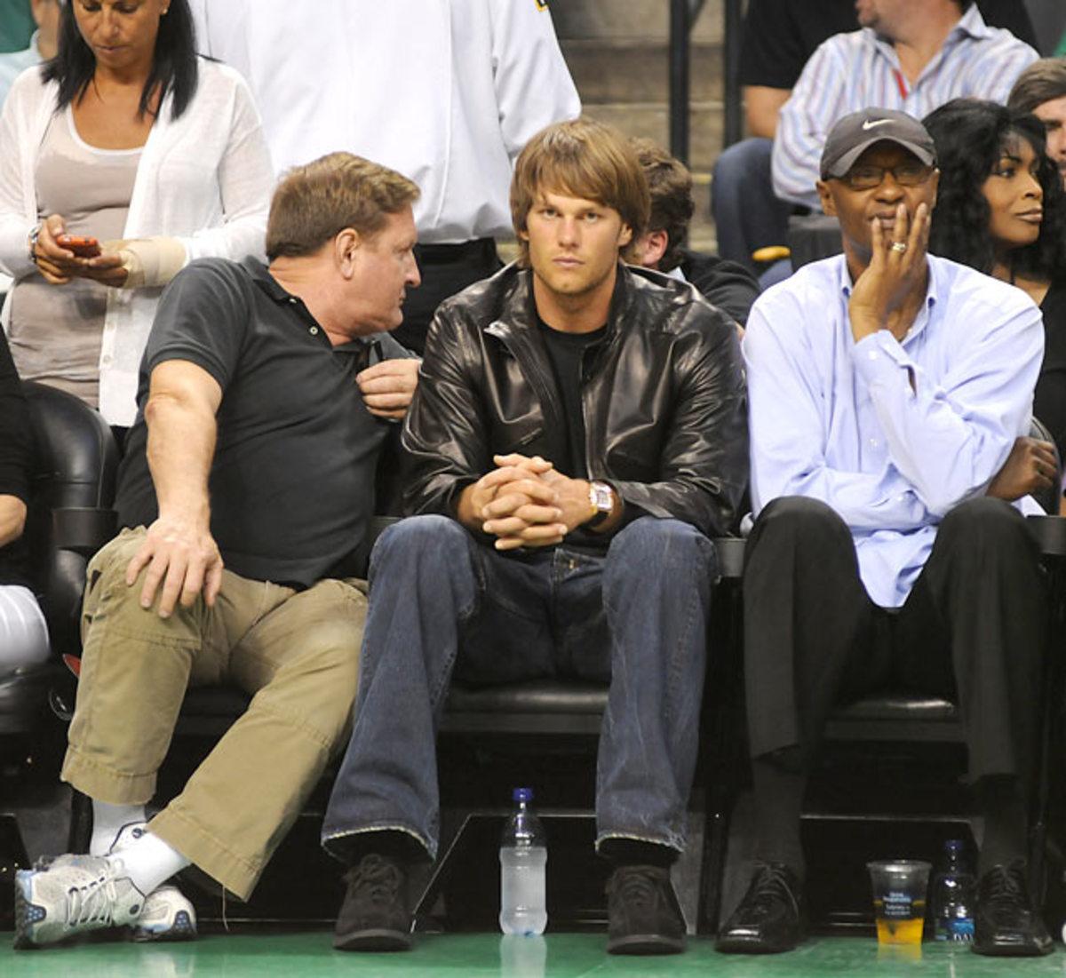 Tom Brady and Joe Bryant