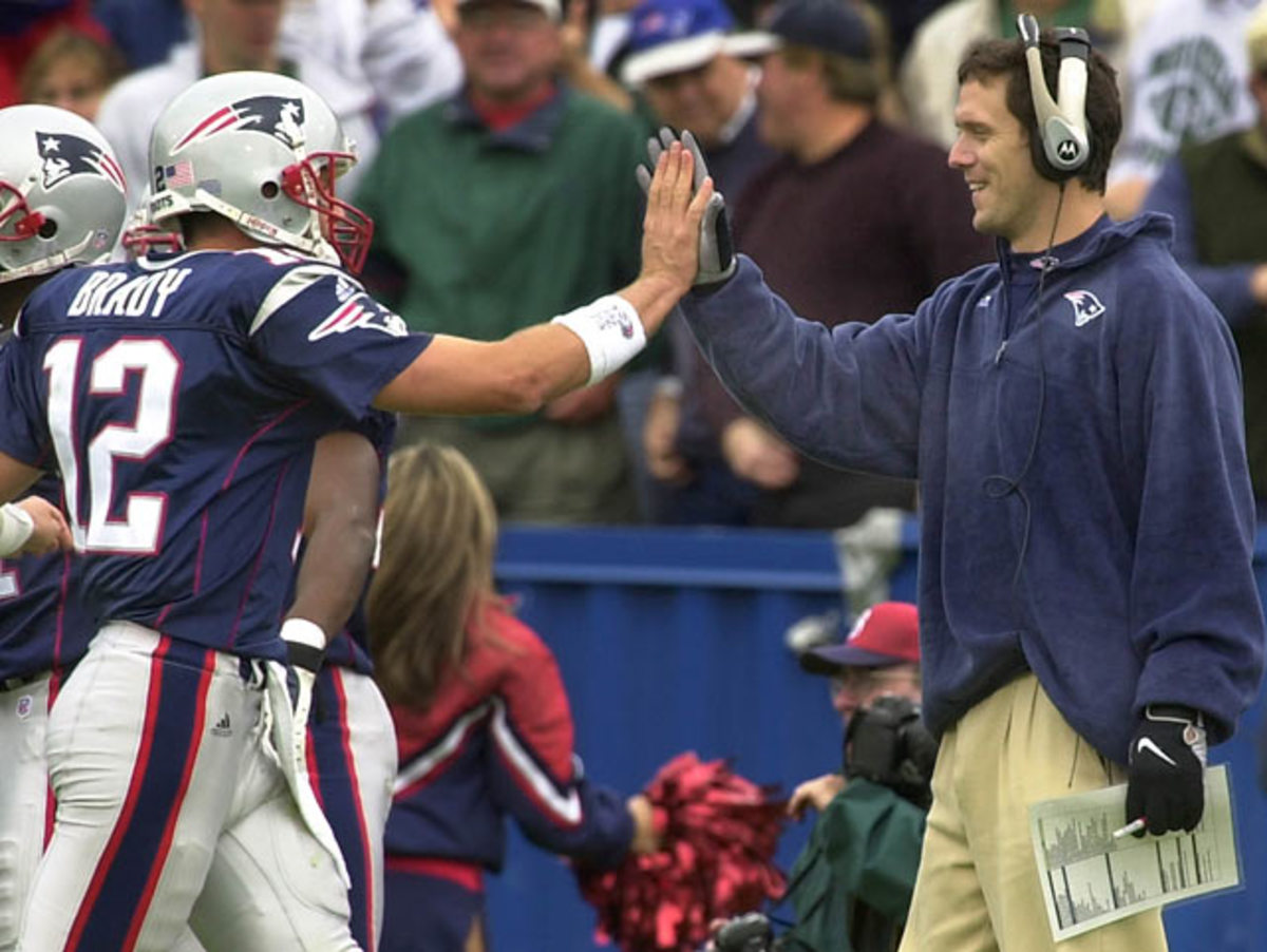 Tom Brady and Drew Bledsoe