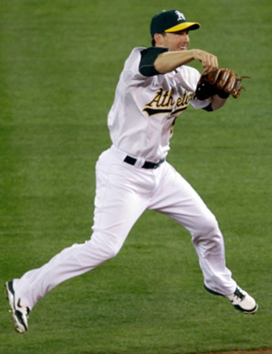 Stephen Drew was traded to the A's in August and helped them win the AL West.