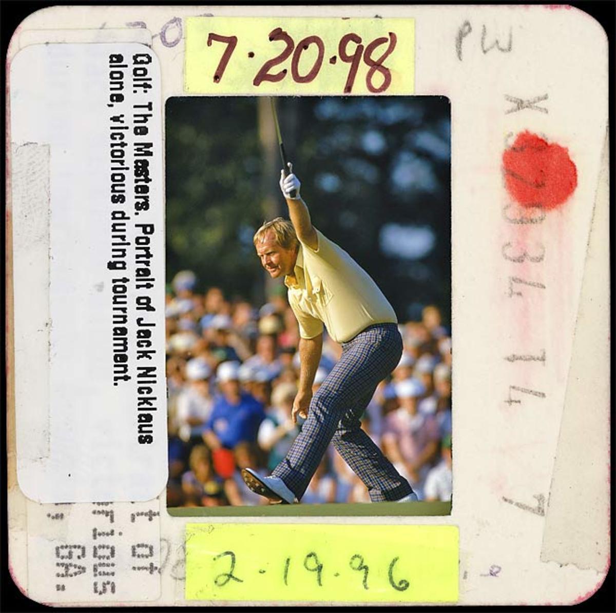 Jack Nicklaus Wins 1986 Masters